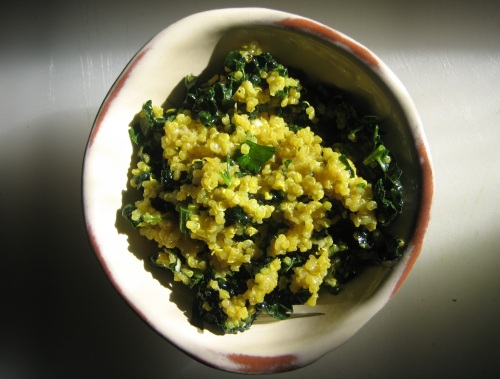 lemony kale and quinoa salad 014
